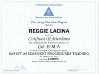 Cal EMA Structural Safety Disaster Relief Certification_March 2012