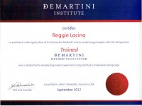 Demartini Insitute Trained Breakthrough Facilitator_Sept 2012