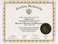 Bachelors Degree_Corllins University April 2011